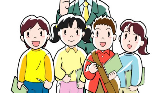 小学生が社会見学に来ていました