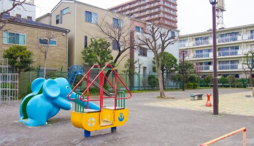 公園は、子供の体作りに最適な場所なのに