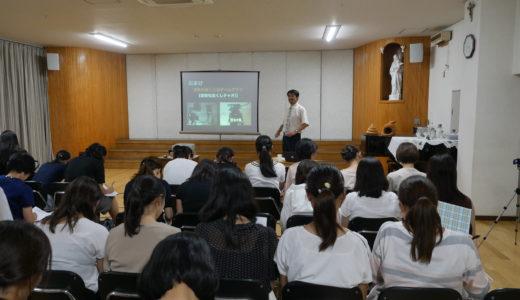 【活動報告】東京都目黒区の枝光会駒場幼稚園さんで講義を行いました